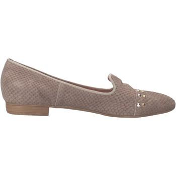 Zapatos Mujer Mocasín Carmens Padova mocasines gris piel de pitón AF36 gris