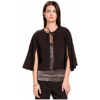 textil Mujer Chaquetas de punto Kocca Capa BENSANG Negro