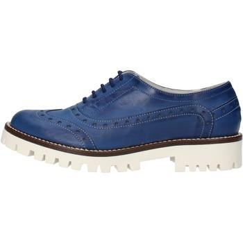 Zapatos Mujer Derbie & Richelieu Olga Rubini elegantes azul cuero AF117 azul