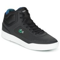 Zapatos Hombre Zapatillas altas Lacoste EXPLORATEUR SPT MID Negro / Verde