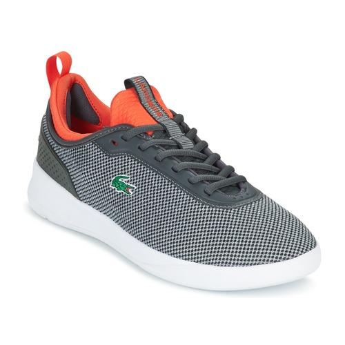 Cómodo y bien parecido Lacoste LT SPIRIT 2.0 Gris / Rojo - Envío gratis Nueva promoción - Zapatos Deportivas bajas Hombre  Gris / Rojo