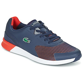 Zapatos Hombre Zapatillas bajas Lacoste LTR.01 Marino / Rojo