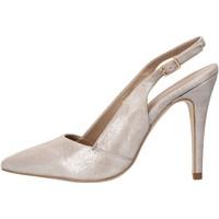 Zapatos Mujer Sandalias Carmens Padova sandalias gris cuero de ante AF503 gris
