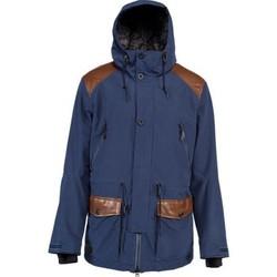 textil chaquetas de deporte Nitro Snowboards NITRO WASATCH  MIDNIGHT Azul