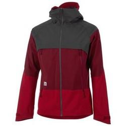 textil chaquetas de deporte Maloja BeaverM. Softshell Jacket FLAME Rojo