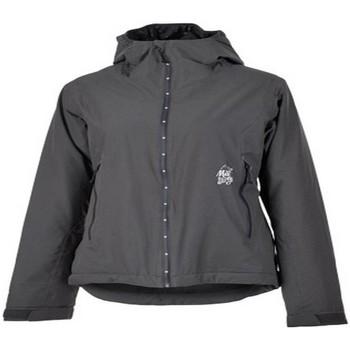 textil Cortaviento Maloja MiltonM. Waterproof Primaloft Jacket CHARCOAL Gris