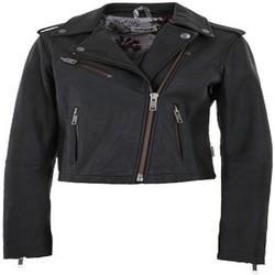 textil Chaquetas Maloja CindyM. Snow Leather Jacket CHARCOAL Gris