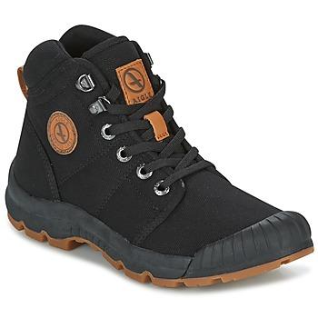 Zapatos Mujer Botas de caña baja Aigle TENERE LIGHT W Negro