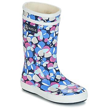 Zapatos Niña Botas de agua Aigle LOLLY POP GLITTERY Azul