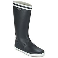 Zapatos Hombre Botas de agua Aigle GOELAND Marino / Blanco