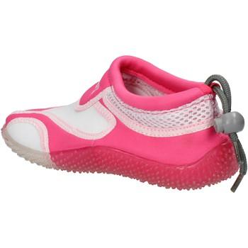 Zapatos Niña Deportivas Moda Everlast sneakers blanco textil rosado gomma AF851 multicolor