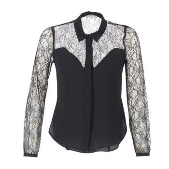 textil Mujer camisas Morgan RESTY Negro