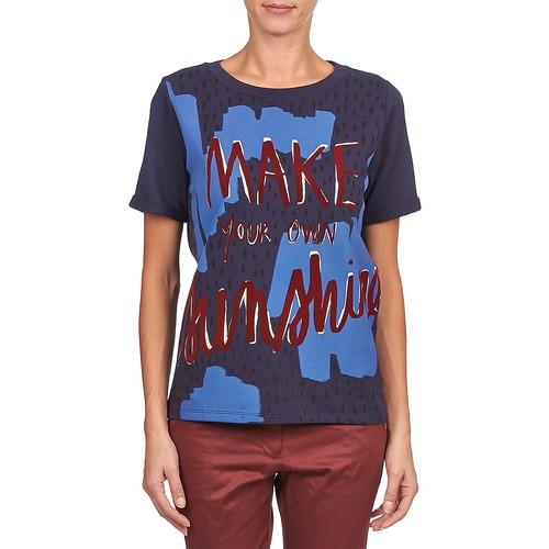 Kookaï Marino Mujer Corta Camisetas Manga Textil Edith strhQdC