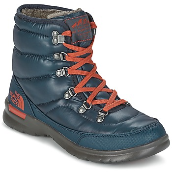 Zapatos Mujer Botas de nieve The North Face THERMOBALL LACE II W Azul