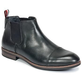 Zapatos Hombre Botas de caña baja Tommy Hilfiger TOMMY COLTON 11A Negro
