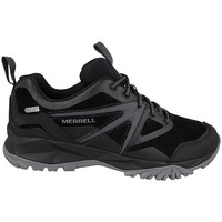 Zapatos Hombre Senderismo Merrell Capra Bolt Leather WP Waterproof Negro-Gris