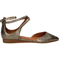 Zapatos Mujer Bailarinas-manoletinas What For FOIL SHEEP Oro