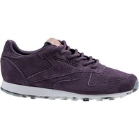 Zapatos Mujer Deportivas Moda Reebok Sport Classic Leather Shimmer BD1520 Violet