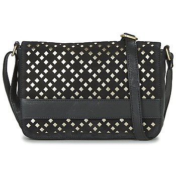 Bolsos Mujer Bandolera Betty London GETA Negro / Oro