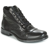 Zapatos Hombre Botas de caña baja Redskins YVORI Negro