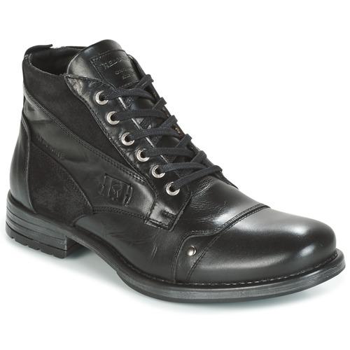 Los últimos zapatos de descuento para hombres y mujeres Redskins YVORI Negro - Envío gratis Nueva promoción - Zapatos Botas de caña baja Hombre  Negro