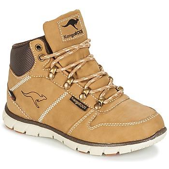 Zapatos Niño Botas de caña baja Kangaroos BLUERUN 2098 Miel