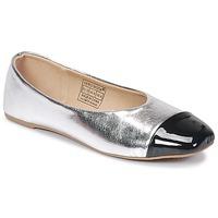 Zapatos Mujer Bailarinas-manoletinas Vero Moda STAR BALLERINA Plateado / Negro