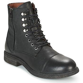 Zapatos Hombre Botas de caña baja Selected TREVOR Negro