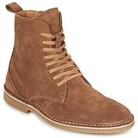 Zapatos Hombre Botas de caña baja Selected ROYCE HIGH Cognac