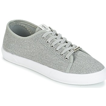 Zapatos Mujer Zapatillas bajas Only SAPHIR GLITTER Gris