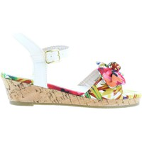 Zapatos Niña Sandalias Flower Girl 340093-B4600 Blanco