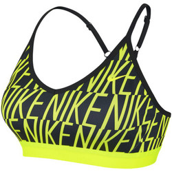 textil Mujer Tops / Blusas Nike Pro Indy Sports Bra Amarillo