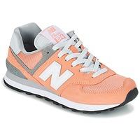 Zapatos Mujer Zapatillas bajas New Balance WL574 Melocotón