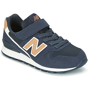 Zapatos Niños Zapatillas bajas New Balance KV996 Marino / Blanco