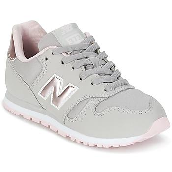 new balance rosa y gris