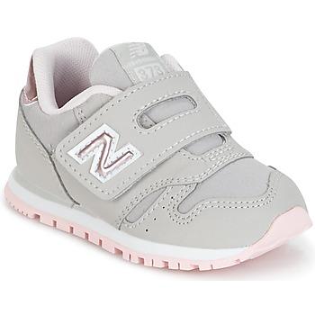 Zapatos Niña Zapatillas bajas New Balance KV373 Gris / Rosa