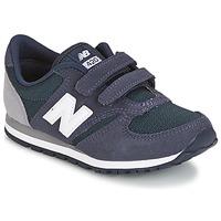 Zapatos Niños Zapatillas bajas New Balance KE421 Marino / Gris