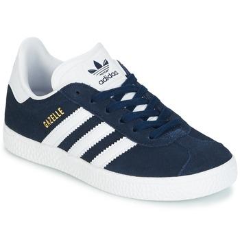 Zapatos Niño Zapatillas bajas adidas Originals Gazelle C Marino