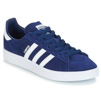 Zapatos Niño Zapatillas bajas adidas Originals CAMPUS J Marino