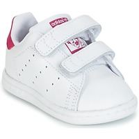 huge selection of 93b5d 6d0c3 Zapatos Niña Zapatillas bajas adidas Originals STAN SMITH CF I Blanco  Rosa