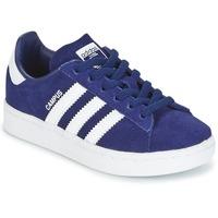 Zapatos Niño Zapatillas bajas adidas Originals CAMPUS C Marino