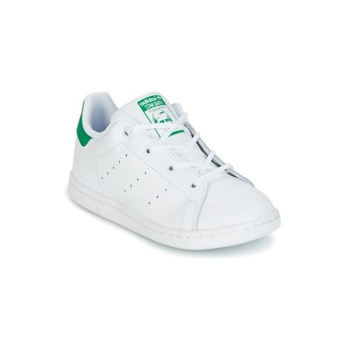 adidas Originals STAN SMITH I Blanco / Verde - Envío gratis | ! - Zapatos Deportivas bajas Nino