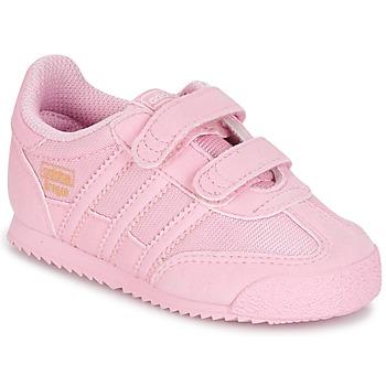 Zapatos Niña Zapatillas bajas adidas Originals DRAGON OG CF C Rosa