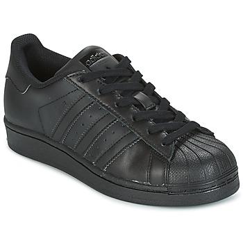 Zapatos Niños Zapatillas bajas adidas Originals SUPERSTAR Negro