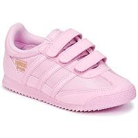 Zapatos Niña Zapatillas bajas adidas Originals DRAGON OG CF I Rosa