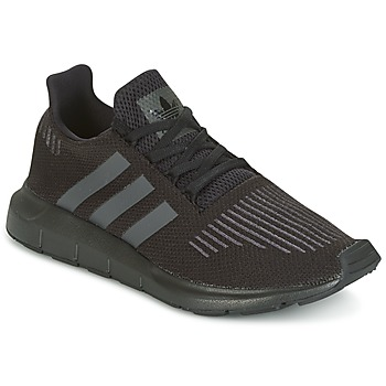 Zapatos Niños Zapatillas bajas adidas Originals SWIFT RUN J Negro