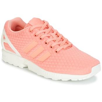 Zapatos Mujer Zapatillas bajas adidas Originals ZX FLUX W Rosa / Blanco