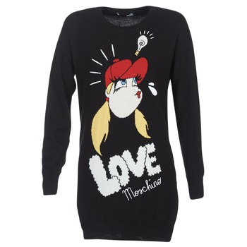 textil Mujer vestidos cortos Love Moschino WS45S01X0608 Negro