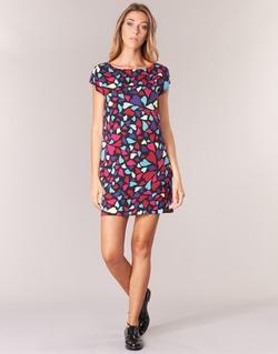textil Mujer vestidos cortos Love Moschino WVF0300T9171 Multicolor