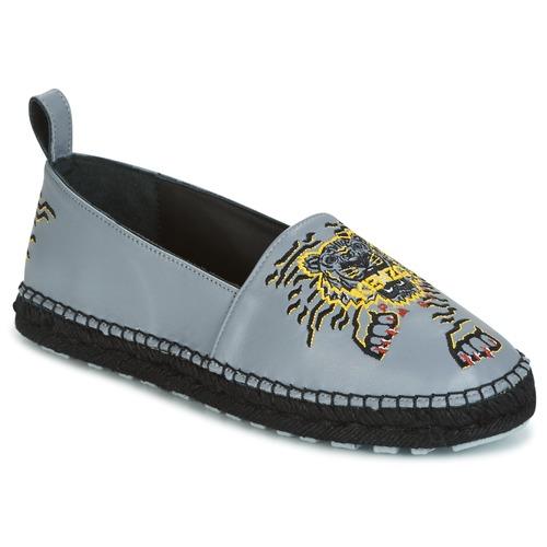 Kumi Zapatos Kenzo Mujer Gris Alpargatas ZXiuPk